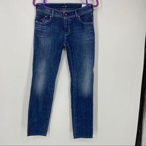 Armani Jeans skinny medium wash jeans